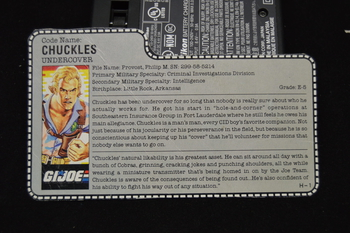Chuckles undercover File Card