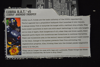 Cobra BAT V5 File Card