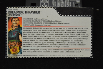 Dreadnok Thrasher File Card
