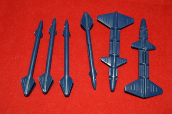 1988 SkyStorm X-Wing Complete Missiles Lot