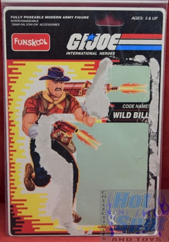 Wild Bill 2001 Funskool India Full Card Back