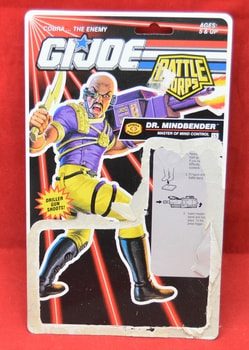 Dr. Mindbender Battle Corps Full Card Backer