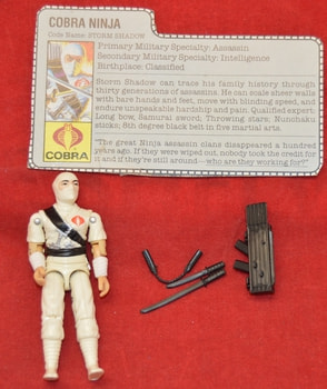 1984 StormShadow Figure