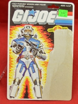 Cobra Commander with Battle Armor Full Card Back