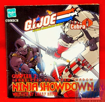 Chapter 2 Snake Eyes vs Storm Shadow Ninja Showdown Booklet