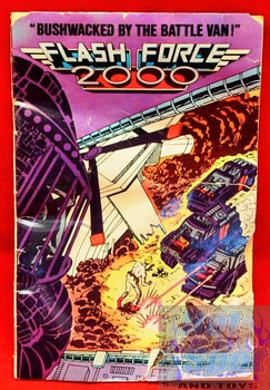 1984 Flash Force 2000 Comic Booklet
