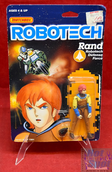 Rand Robotech Defense Force 7214 Figure