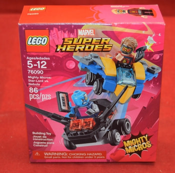 Super Hero's 76090 86 pcs