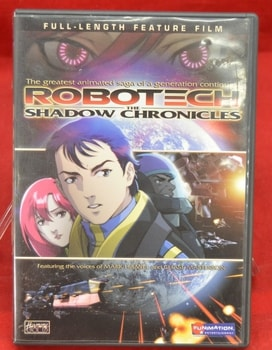 Robotech The Shadow Chronicals Movie DVD