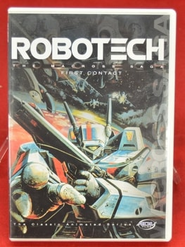 Robotech The Macro Saga First Contact Movie DVD