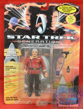 Montgomery Scott Figure Star Trek Generations