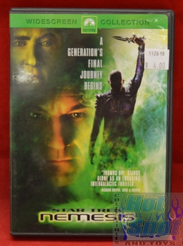 Star Trek Nemesis DVD Widescreen Collection