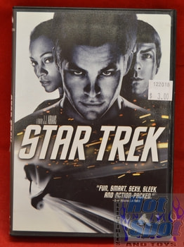 Star Trek DVD 2009 Widescreen Edition
