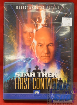 Star Trek First Contact DVD Widescreen Edition