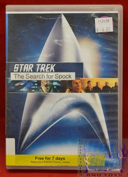 Star Trek The Search of Spock DVD