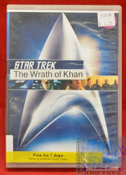 Star Trek The Wrath of Khan DVD #2