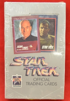 Star Trek Official Trading cards Box