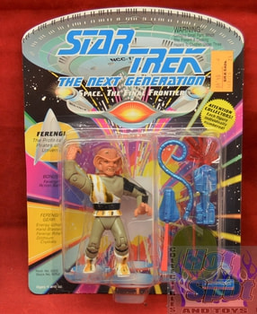 Ferengi Unpunched Action Figure w sticker