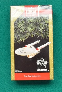 Enterprise 1991 Ornament