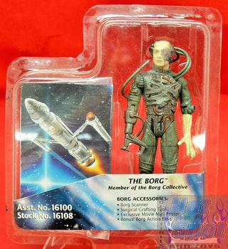 The Borg Action loose complete Figure First contact