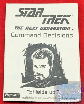 Next Generation Command Decisions Shields Up Booklet