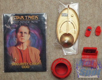 Deep Space 9 Chief Security Office Odo Complete Lot