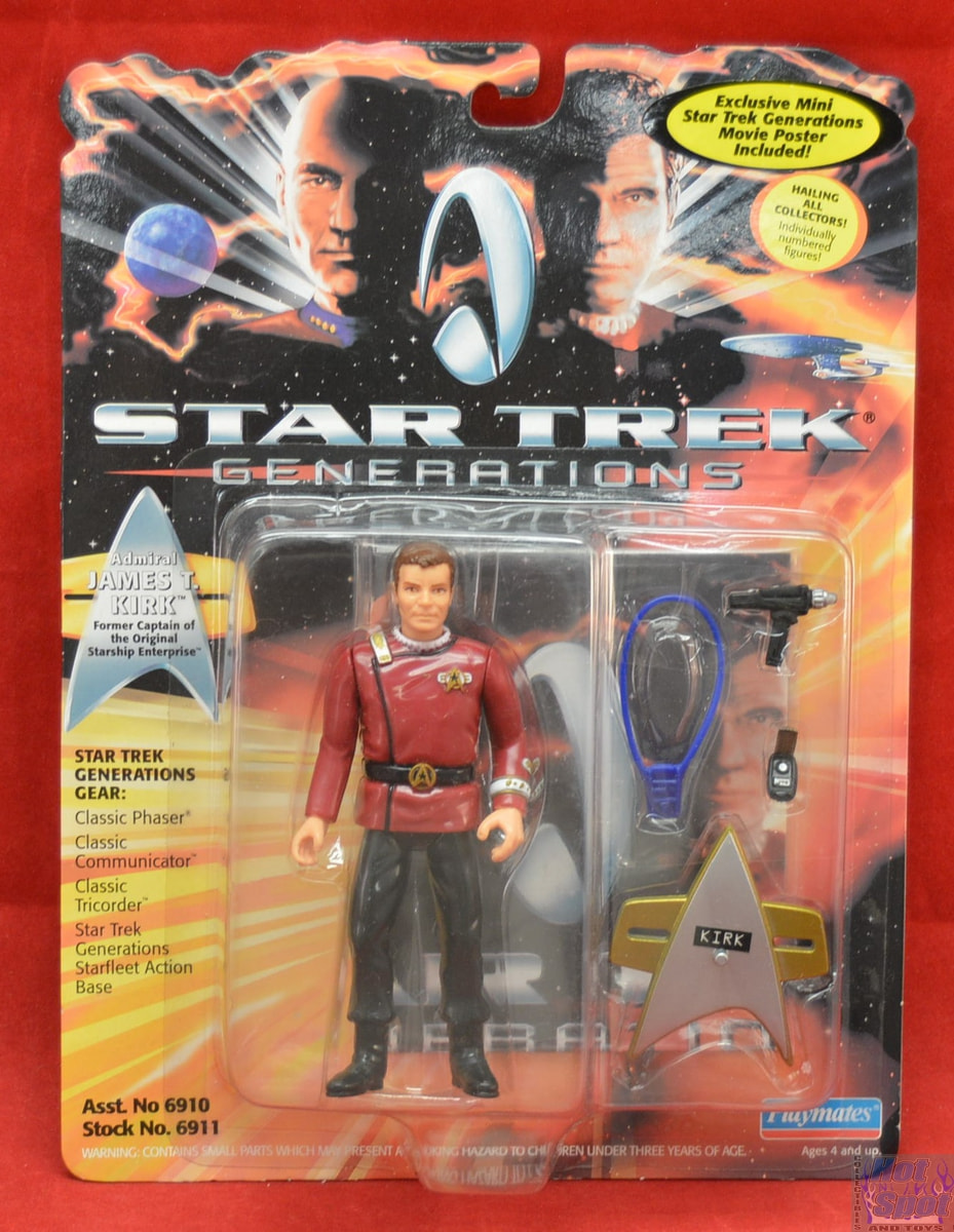 Rewelacyjny Hot Spot Collectibles and Toys - Admiral James T. Kirk Figure Star CU73