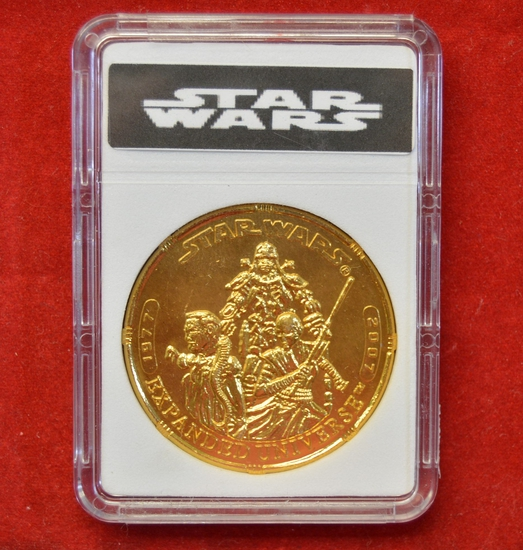 30th Anniversary Gold Tone Expanded Universe Coin