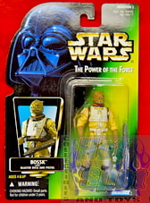 Green carded Bossk Japanese Figure