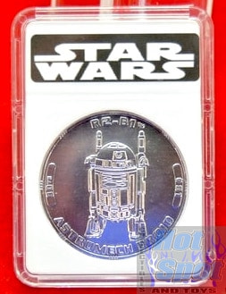 30th anniversary TAC R2-B1 Coin