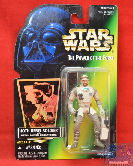 Green Carded Hoth Rebel Soldier