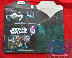 Taco Bell Star Wars Kids Meal Box