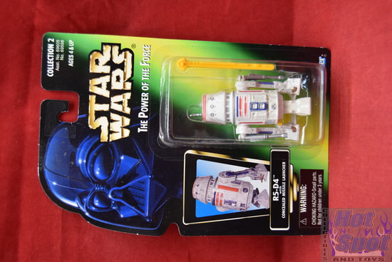 R5-D4 with Concealed Missile Launcher Power of the Force Green Card