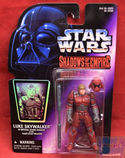 Shadows of the Empire Luke Skywalker in Imperial Guard Disguise Figure