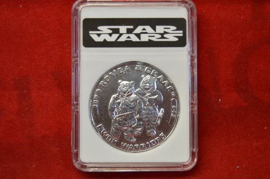 30th Anniversary Silver Romba Graak Coin Slabbed