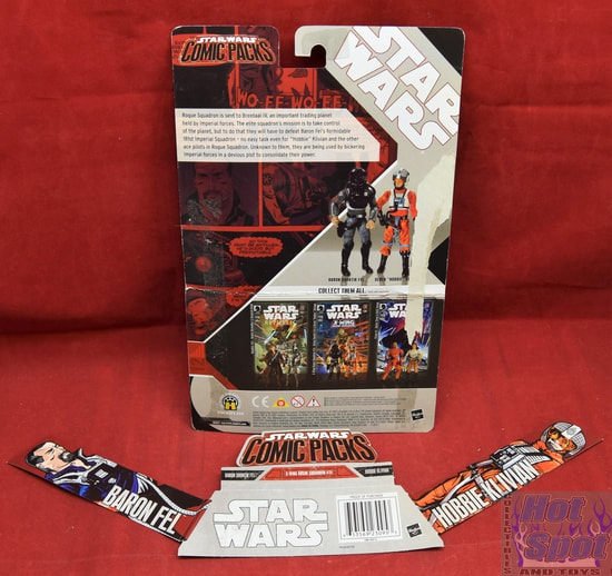 Comic Packs X-Wing Rogue Squadron #24 Card Backer