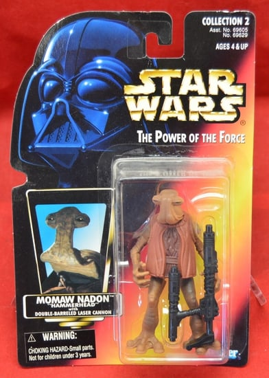 Red Carded Momaw Nadon HammerHead Figure