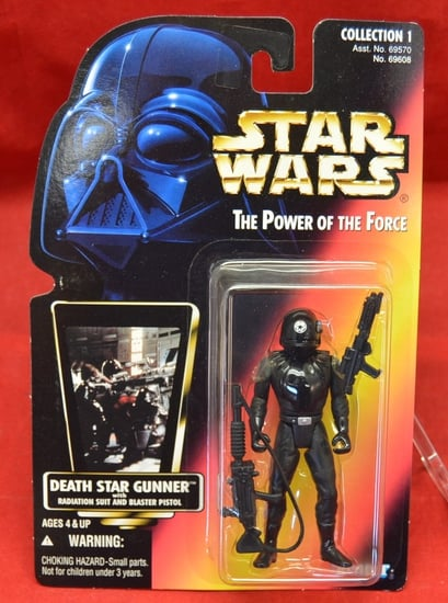 Red Carded Death Star Gunner Figure