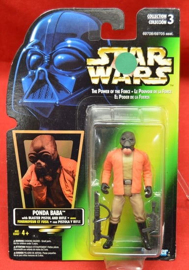 Green Carded foreign Ponda Baba Figure
