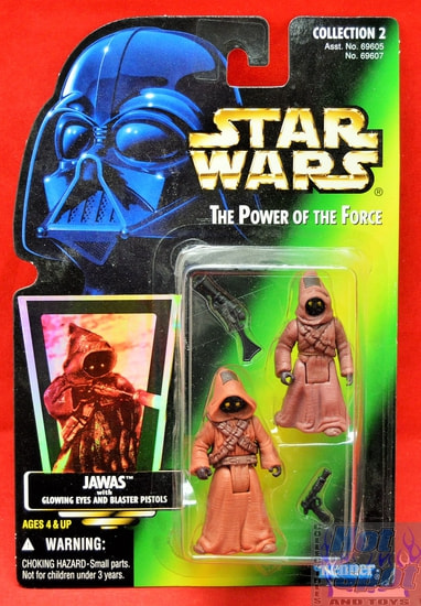Green Card Jawas Action Figure (Sticker)