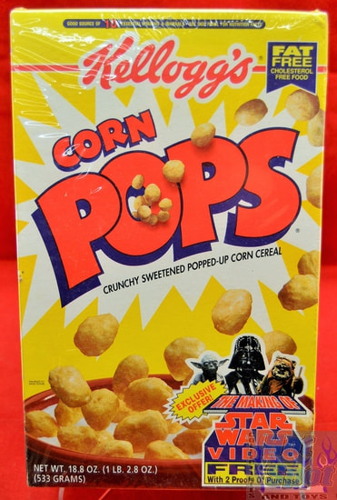 Corn Pops Star Wars 18.8 oz Cereal Box