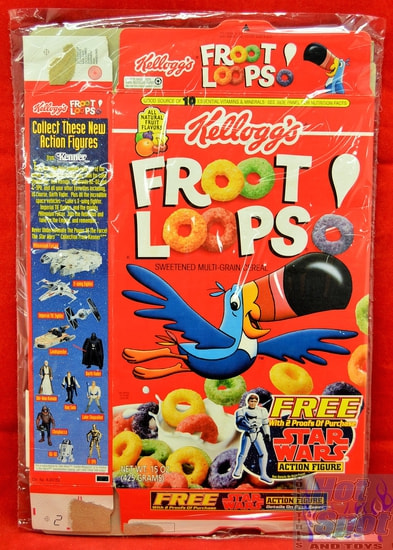 Fruit Loops Star Wars Cereal Box