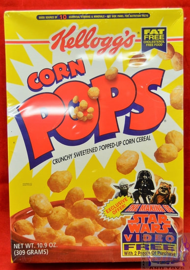 Corn Pops Star Wars 10.9 oz Cereal Box