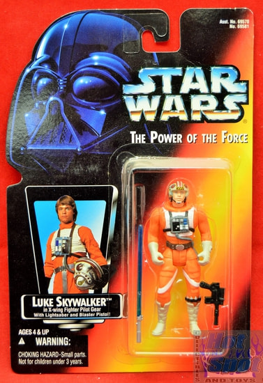 Red Card X-wing Fighter Pilot Gear Luke LS