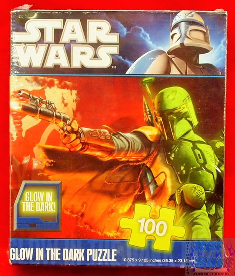 Boba Fett Glow in the Dark Puzzle