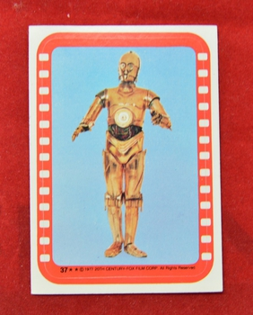 Sticker 37 Film cell C-3PO