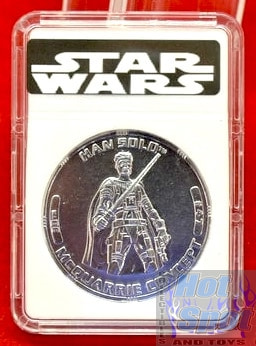 30th Han Solo McQuire Concept Coin