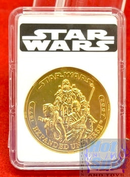 30th Anniversary TAC Expanded Universe Gold Coin