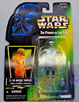 Green Carded 2-1B Medical Droid