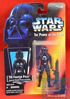 Red Carded Tie Fighter Pilot Figure